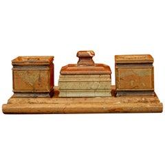 Öland Marble Writing Desk Set