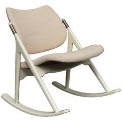 Olav Haug Rocking Chair by Elverum Møbel, Norway, circa 1950