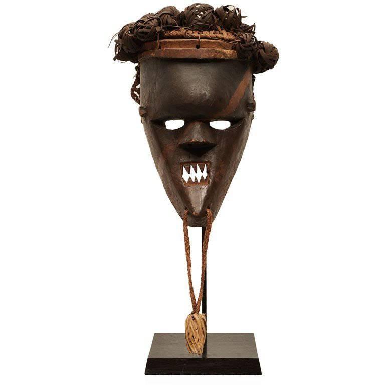Old and Good Salampasu Mask For Sale
