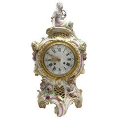 Old and Rare KPM Berlin Porcelain Magnificent Clock