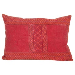 Old Banjara Quilt Cushion / Pillow Caseq, Early 20th Century