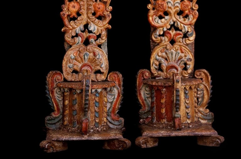 Mexican Old Bases for Pedestal Candles For Sale