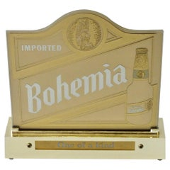 Old Bohemia Brewery Beer Light Up Back Bar Advertising Sign
