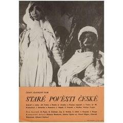 """""""Old Czech Legends"""" 1953 Czech A3 Film Poster"""