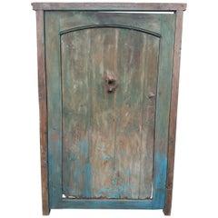 Old Dia Turquoise Moroccan Door, Old Knocker