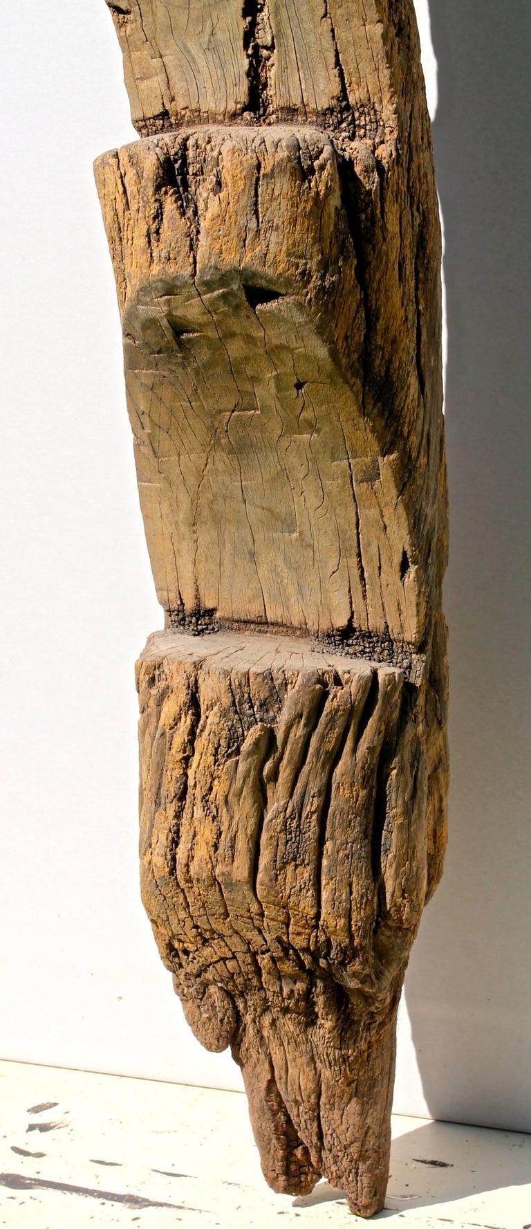 Tribal Old Dogon Ladder African Sculpture For Sale