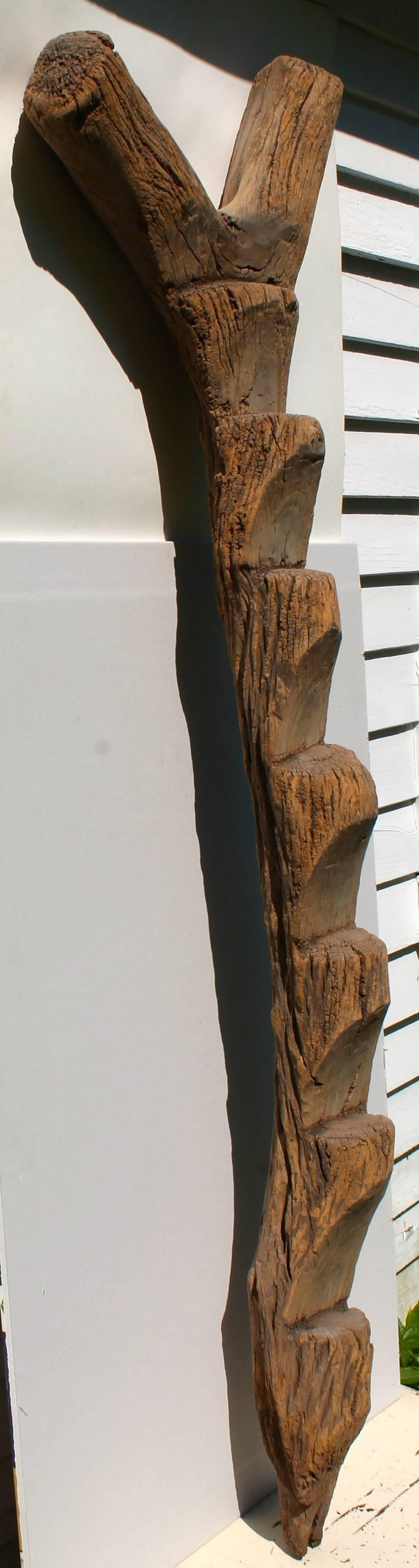 Malian Old Dogon Ladder African Sculpture For Sale