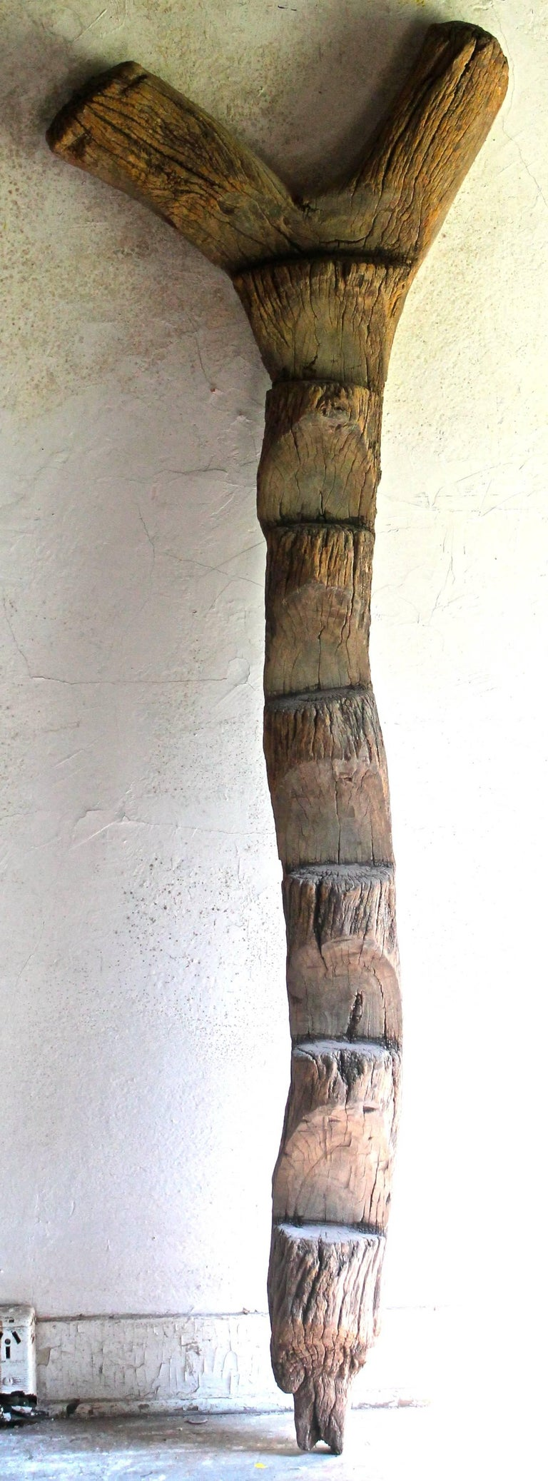 Old Dogon Ladder African Sculpture In Good Condition For Sale In Sharon, CT