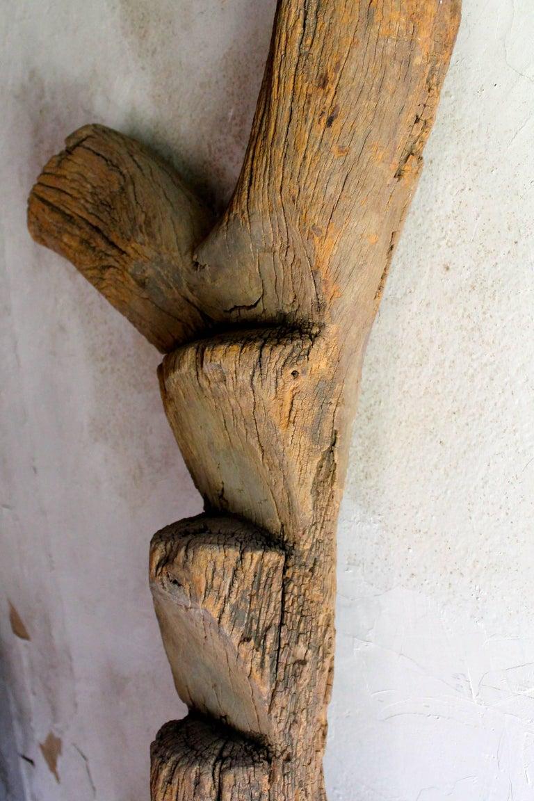 Old Dogon Ladder African Sculpture For Sale 1