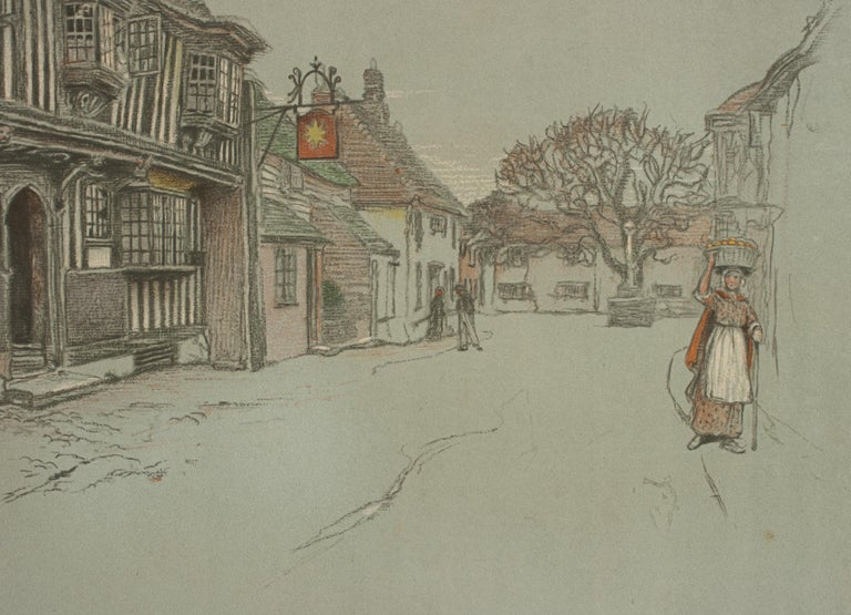 Old English Inns by Cecil Aldin, the Star Inn, Signed in Pencil For Sale 1