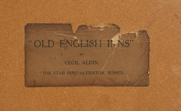 Old English Inns by Cecil Aldin, the Star Inn, Signed in Pencil For Sale 2