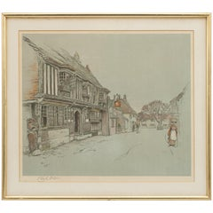 Old English Inns by Cecil Aldin, the Star Inn, Signed in Pencil