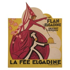 Old French Art Deco Decoration Paper Advertising / Add, 1930s