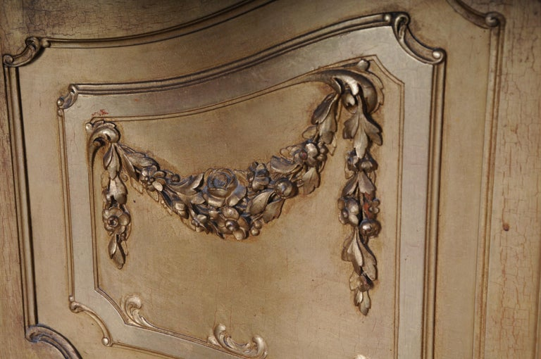 Wood Old French Cabinets Showcase in Louis XV, circa 1900 For Sale