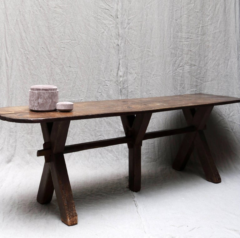 Other Old French Laundry Table from the 19th Century For Sale