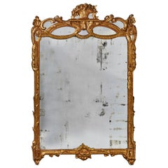 Old French Mirror, 18th Century
