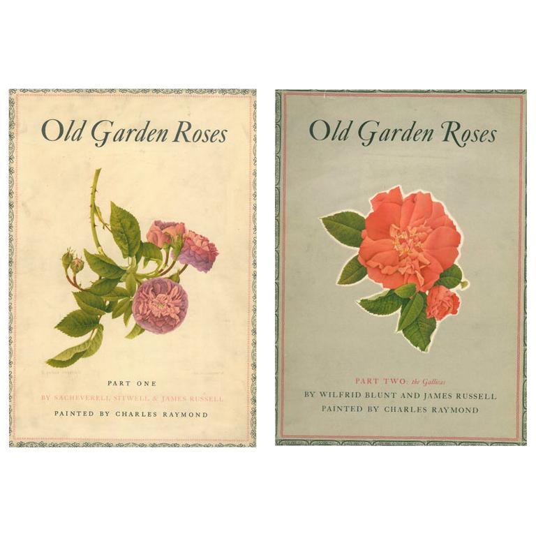 Old Garden Roses '2 Volume Set' Books