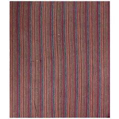 Old Handwoven Persian Kilim Area Rug