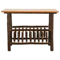 "Old Hickory ""Big Country"" Sofa Table, 20th Century"
