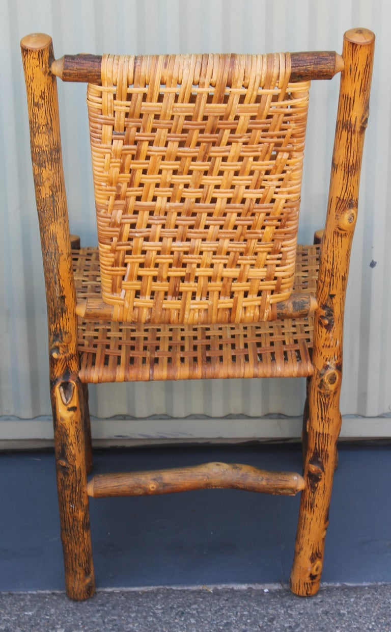 Old Hickory Camp Chairs or Set of Six For Sale 7