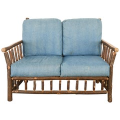 "Old Hickory ""Grove Park"" Loveseat, 20th Century"
