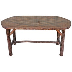 Old Hickory Oval Dinning Table