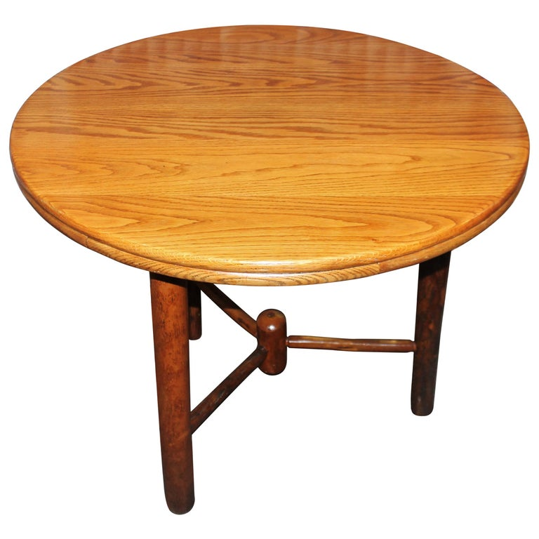 Old Hickory Round Kitchen/Dinning Table For Sale