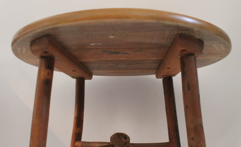 Country Old Hickory Side or End Table For Sale