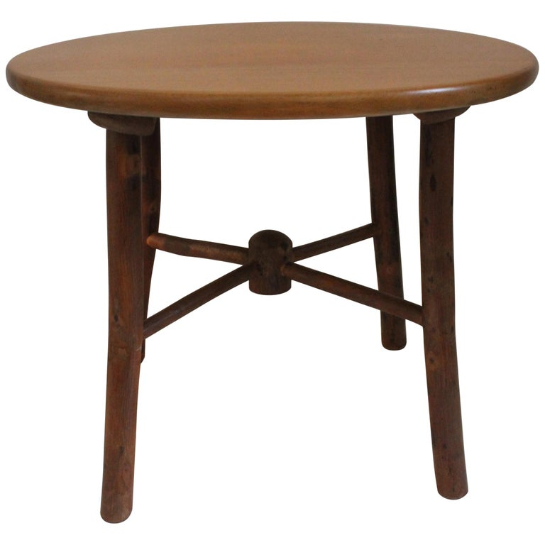Old Hickory Side or End Table For Sale