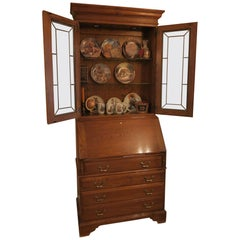 Old Hollywood Secretary Exquisite Condition Book Shelves and Storage Galore