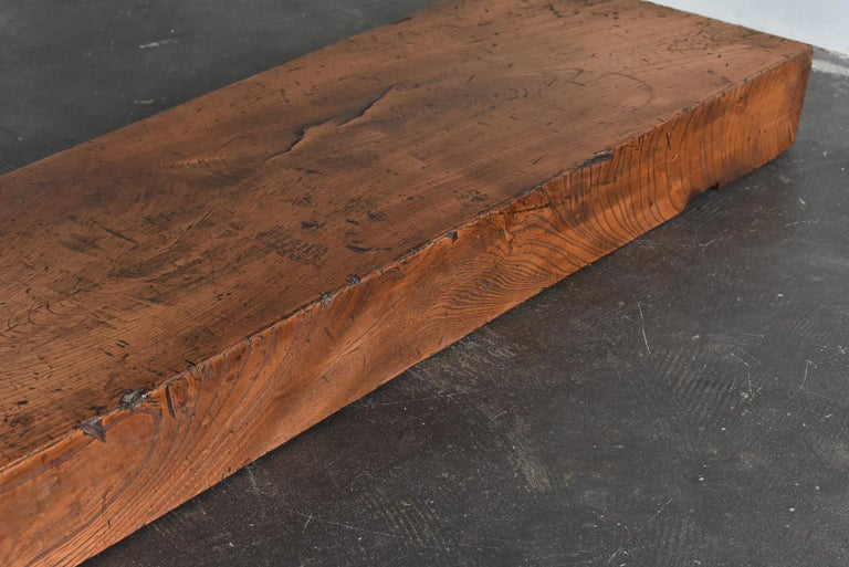 Old Japanese Craftsman's Workbench / Bench Seat / Exhibition Stand & Table/Showa For Sale 13