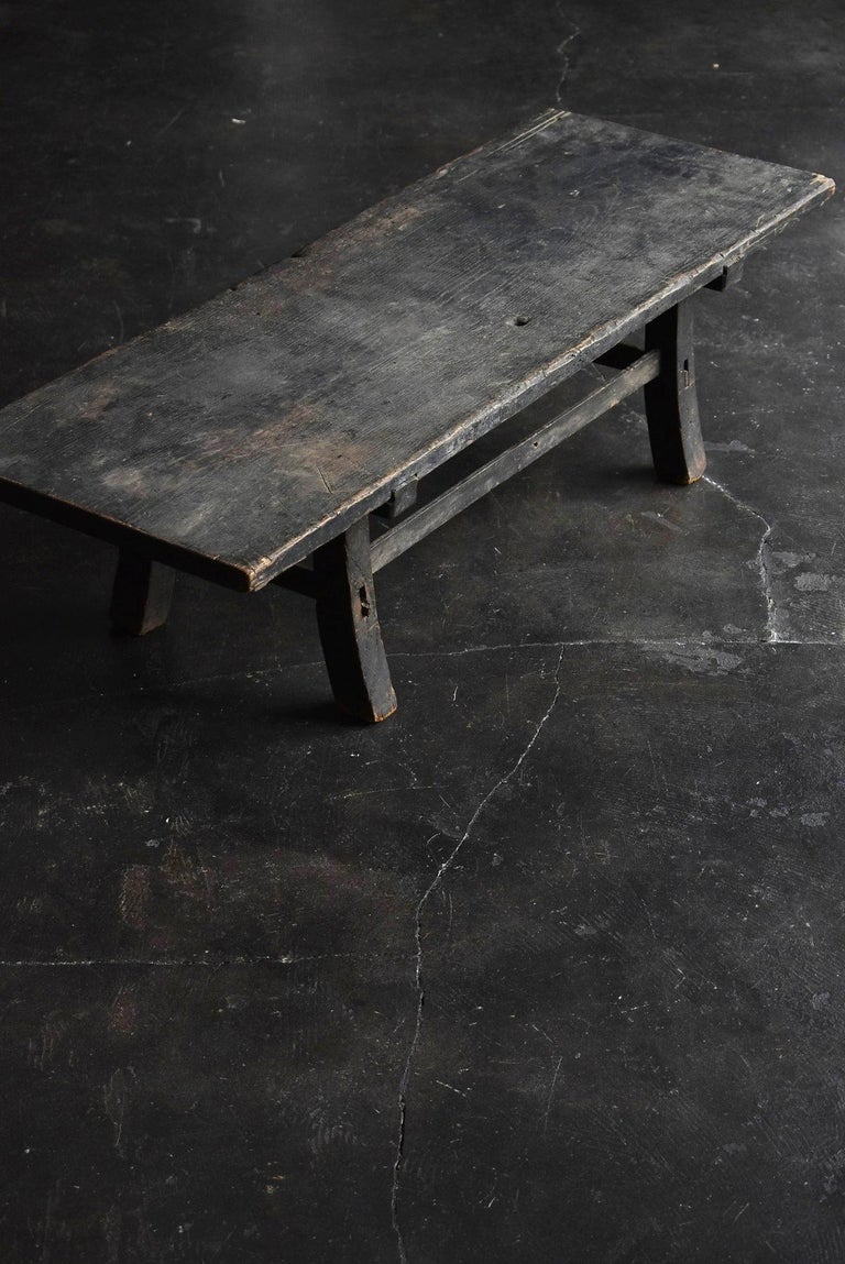 A desk made in the middle to late Edo period in Japan.