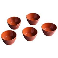 "Old Japanese Lacquer Ware ""Negoro"" Tea cup 1700s-1800 / Edo Period Wabi-Sabi"