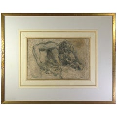 Old Master Drawing Manner of Sir Peter Paul Rubens, 18th Century or Earlier