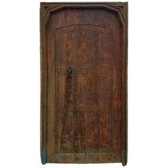 Old Mia Two-Tan Moroccan Door, Ring Knocker