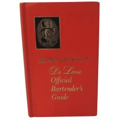 Old Mr. Boston De Luxe Official Bartender's Vintage Hardcover Guide