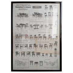 Old Original Poster with Furniture