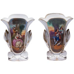 Old Paris Antique Vases