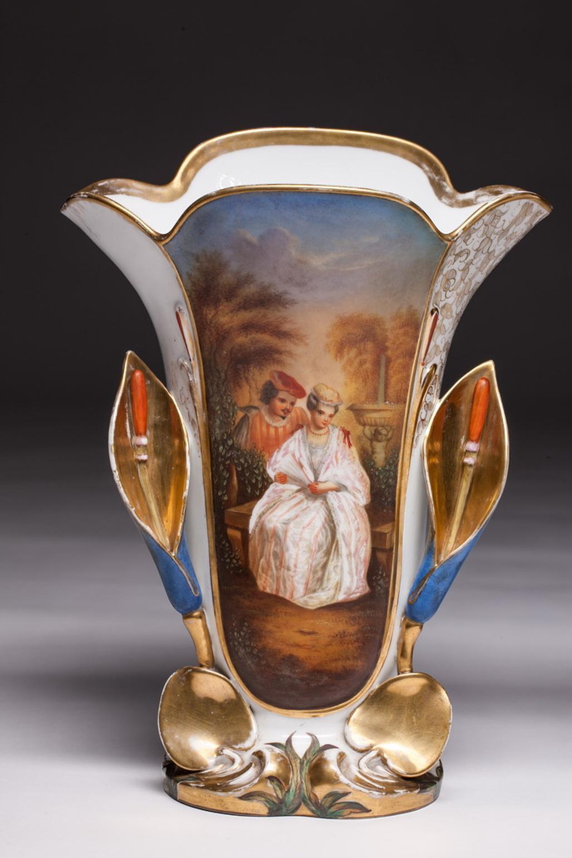 Schön Groß Versilbert Aus Dem 1900 Jh Antike Vase Aus Metall