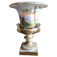 Old Paris Porcelain Urn, 18th Century