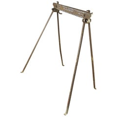 Old Portable Holdfast Knife Stand, 20th Century