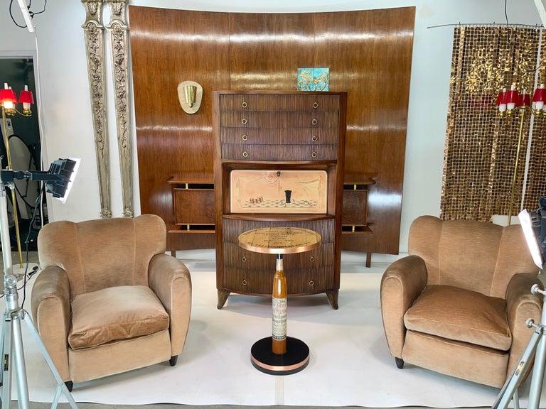 Old Rip Van Winkle Barrel Head Table For Sale 5