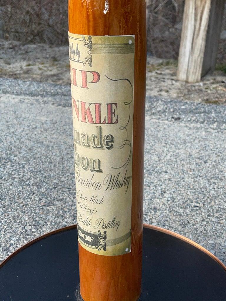 Old Rip Van Winkle Barrel Head Table For Sale 9