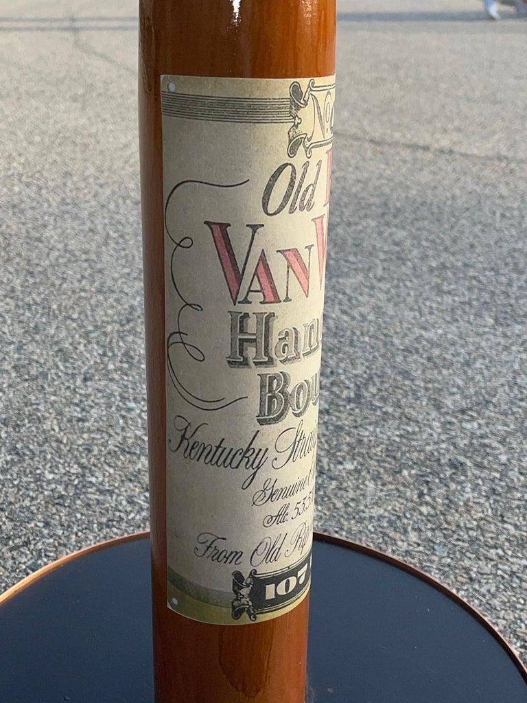 Old Rip Van Winkle Barrel Head Table For Sale 12