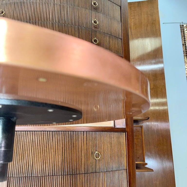 Old Rip Van Winkle Barrel Head Table For Sale 2