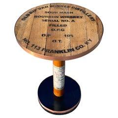 Old Rip Van Winkle Barrel Head Table