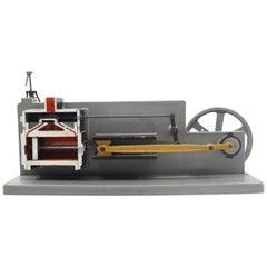 Old School Teaching Model of Engine