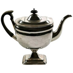 Old Sheffield Plate Coffee Pot George IV, 1820-1830