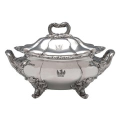 Old Sheffield Plate Soup Tureen