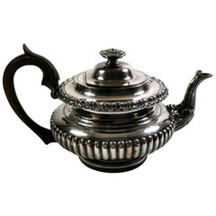 Old Sheffield Plate Teapot George IV